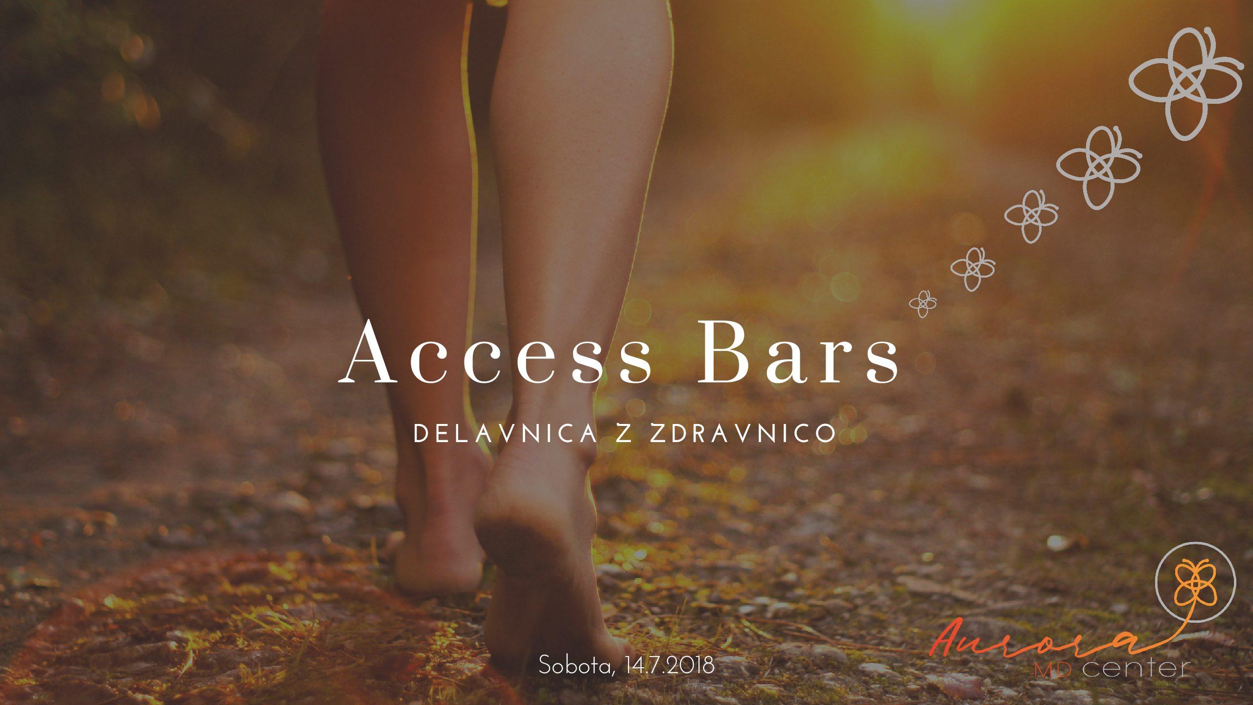 Access Bars Delavnica sobota 14. 7. 2018