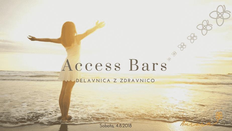 Access Bars delavnica, sobota 4. 8. 2018, 9:30 – 17:30