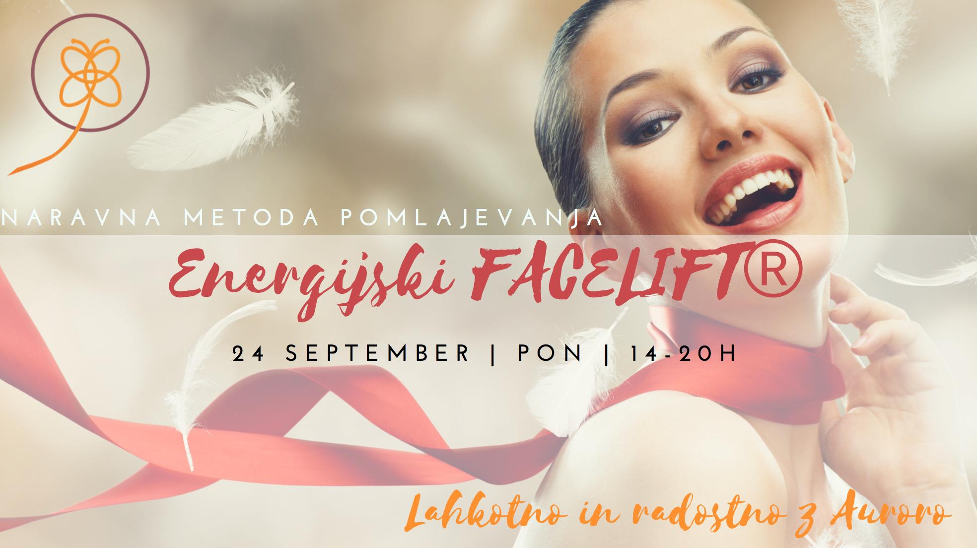 Energijski Facelift™ delavnica 24.9.2018