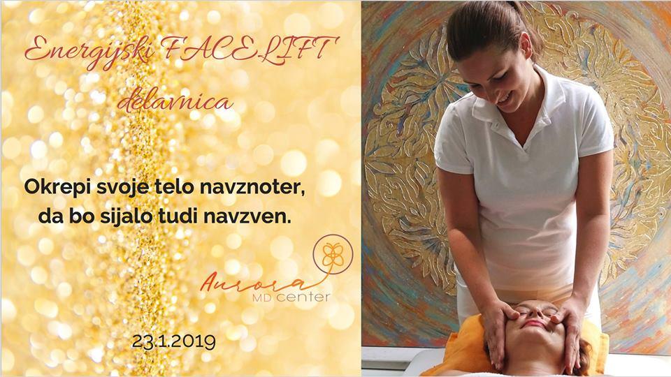 Energijski Facelift™ delavnica z zdravnico, 23. 1. 2019
