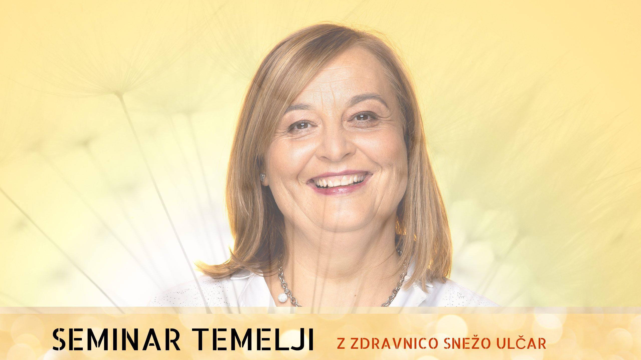 Seminar Temelji z zdravnico, 16.-19.3.2019