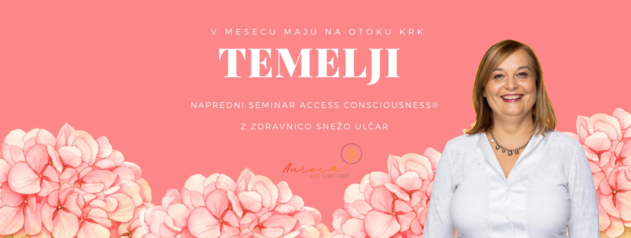 Seminar TEMELJI z zdravnico na morju, 1.-4.5.2019