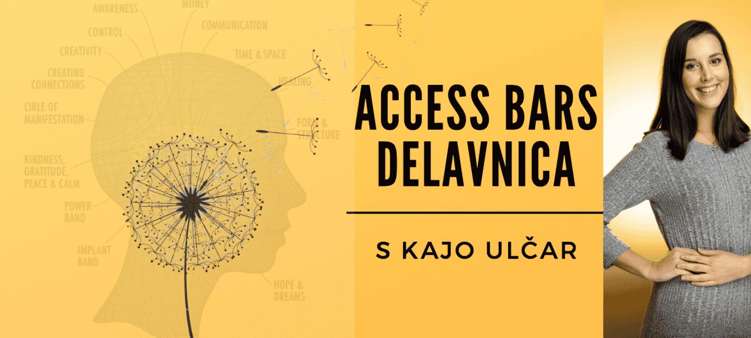 Access Bars delavnica s Kajo Ulčar, 22.6.2019, 9:30-17:00