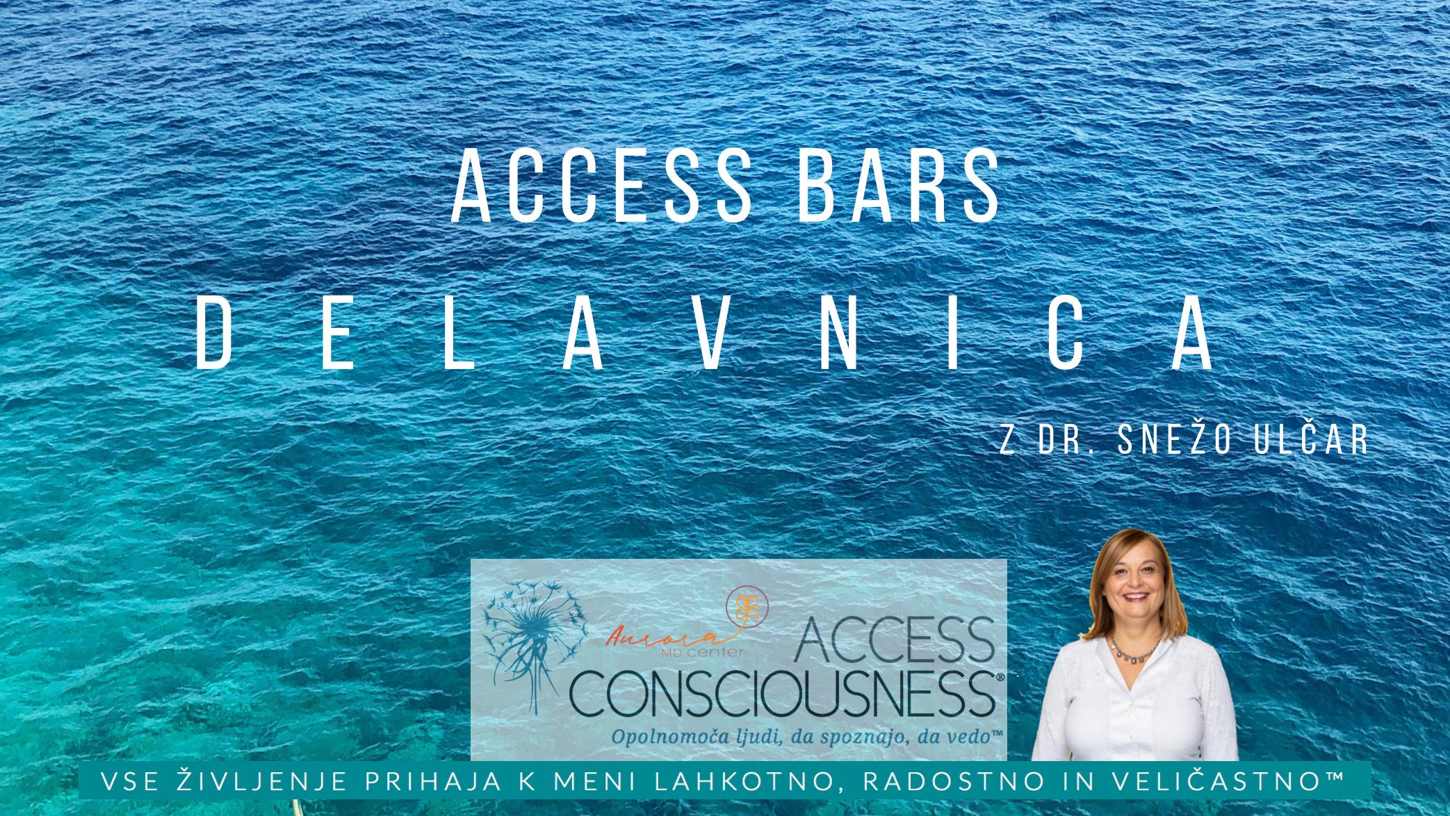Access Bars delavnica s Snežo Ulčar, 9.7.2019, 9:30-17:30
