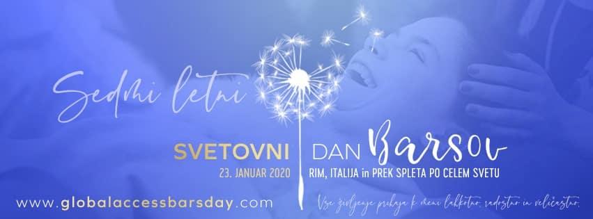 Svetovni dan Access Bars – Ljubljana, 23.1.2020, 13:00-19:00