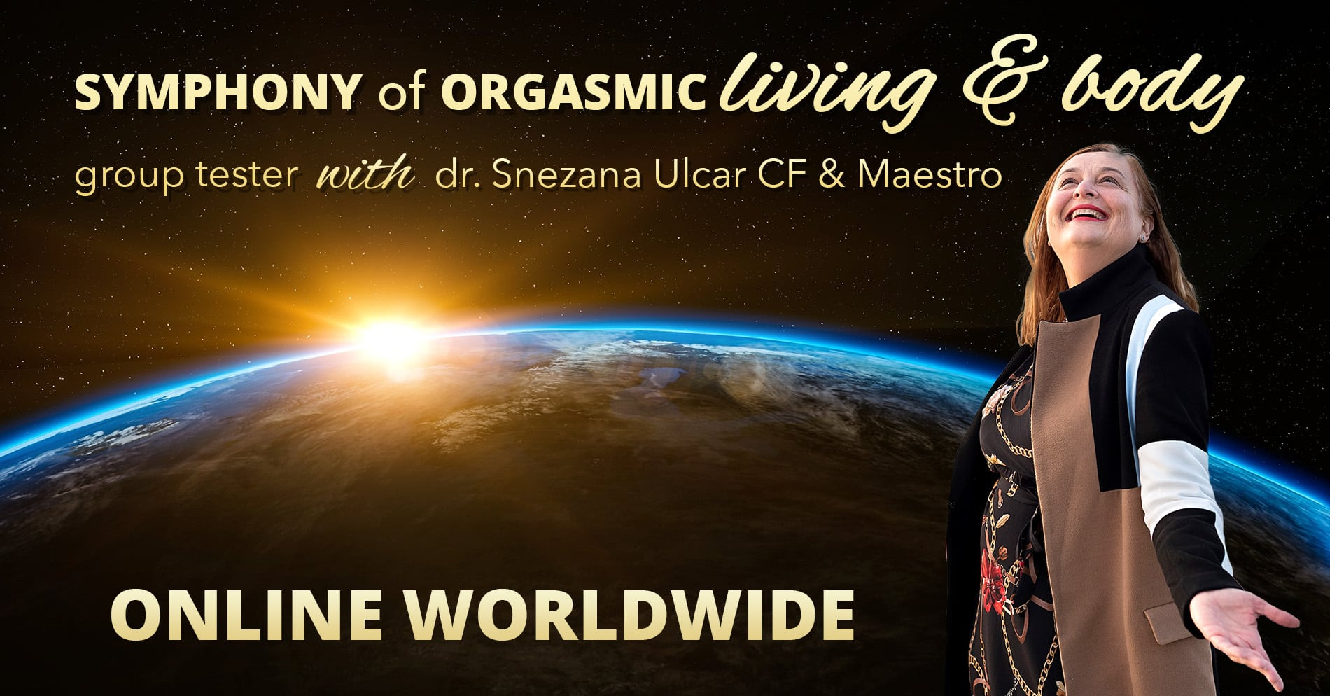 Symphony of orgasmic Living and Body – group taster, 25.4.2020