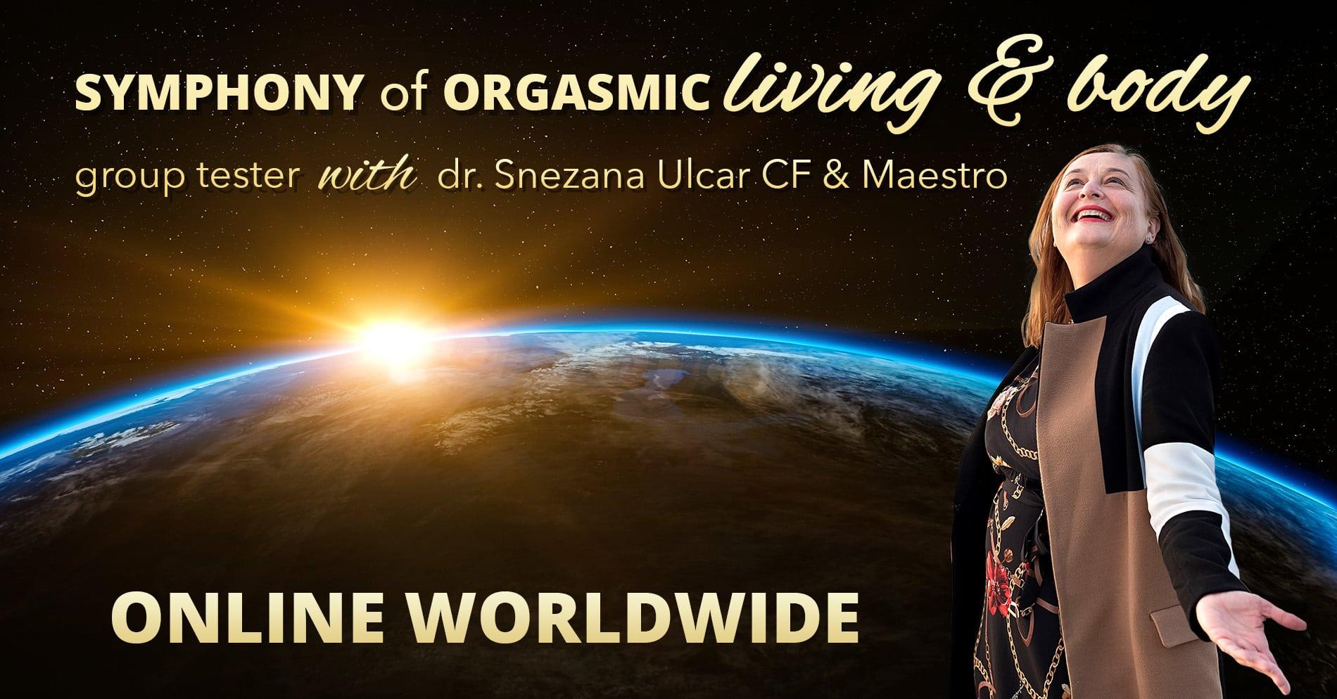 Simfonija orgazmičnega življenja in telesa, 22.4.2020, 20:00