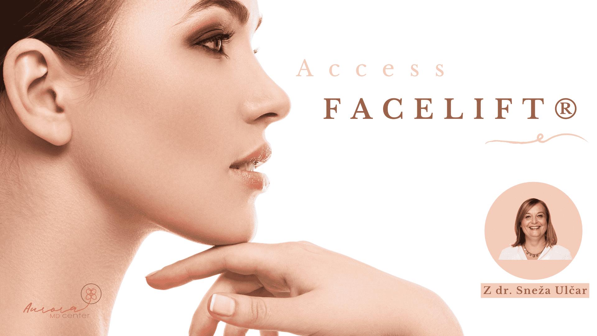 Access Energijski Facelift® delavnica s Snežo Ulčar, dr.med.