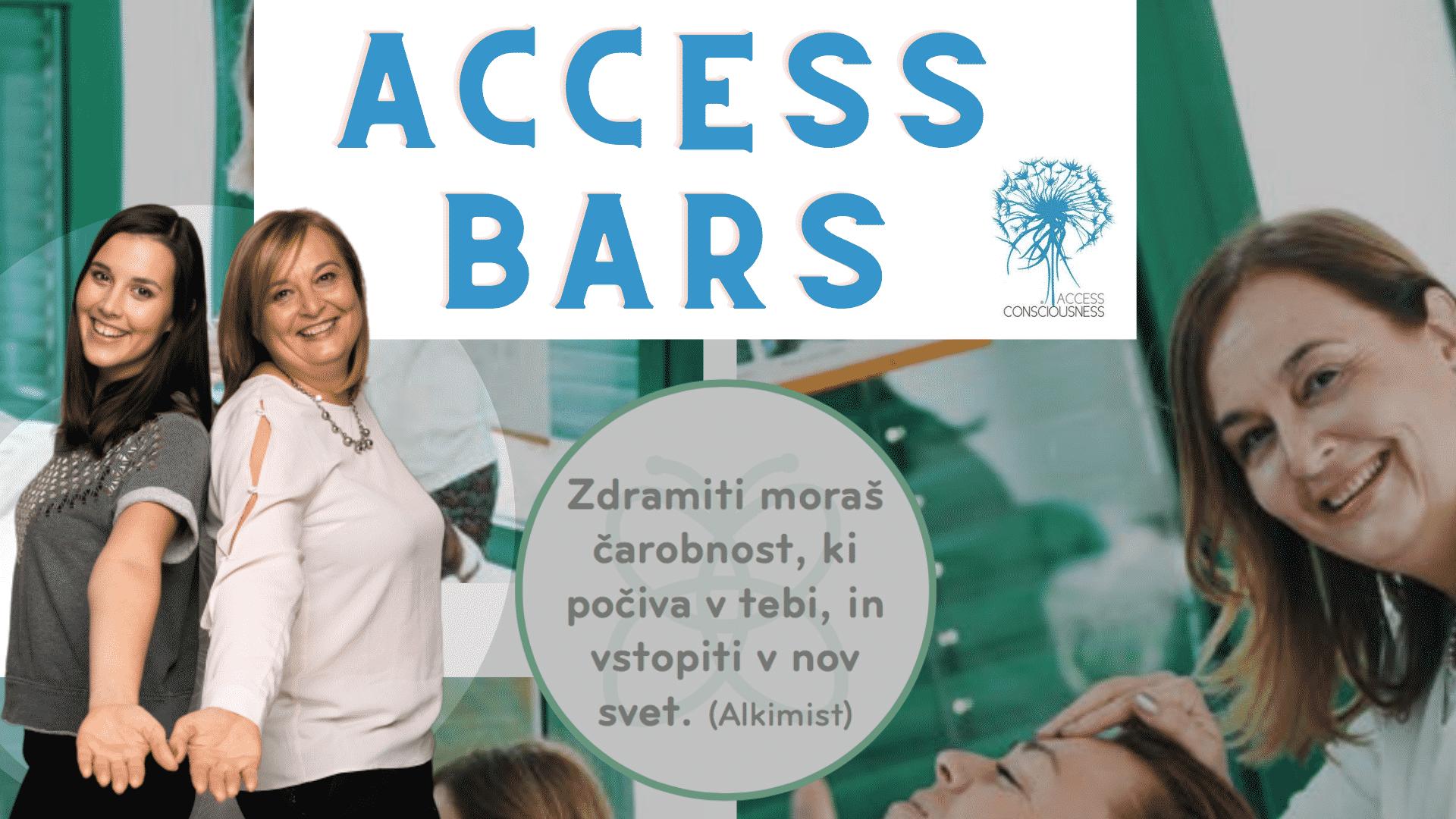 Access BARS delavnicaⓇ s Snežo Ulčar, dr.med. in Kajo Ulčar v Ljubljani