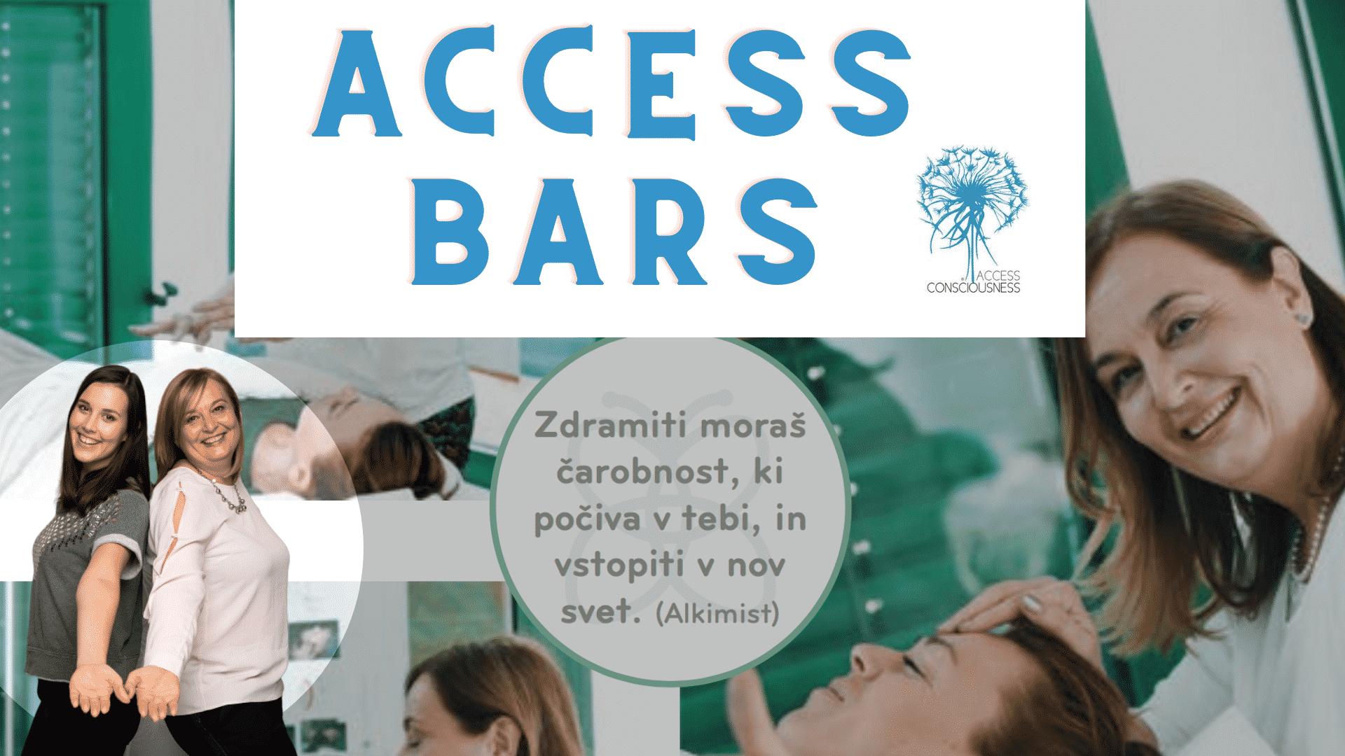 Access Bars delavnica s Snežo in Kajo Ulčar