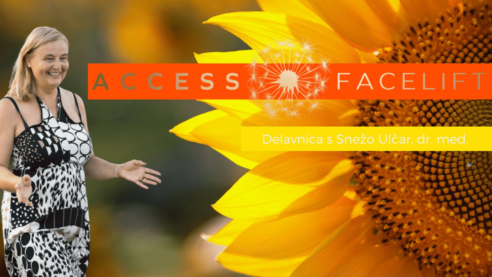 Access Facelift® s Snežo Ulčar, dr. med. v Ljubljani