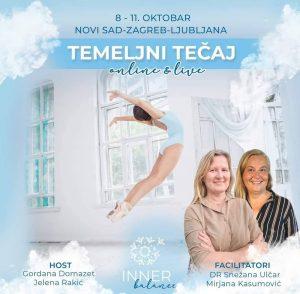 seminar T E M E L J I  / Foundation class Online & Live – dr. Snežana & Mirjana