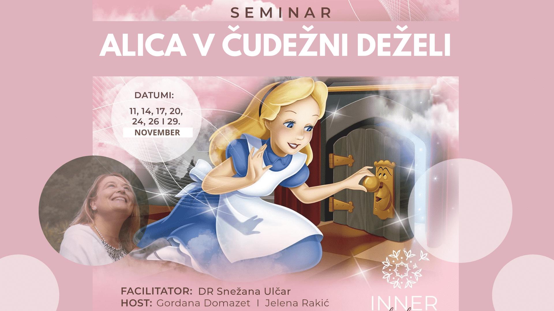 Serija 7 klicev: Alica v čudežni deželi s Snežo Ulčar